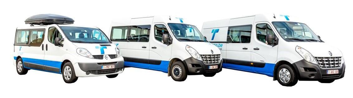 WEEKENDACTIE minibusjes 8+1